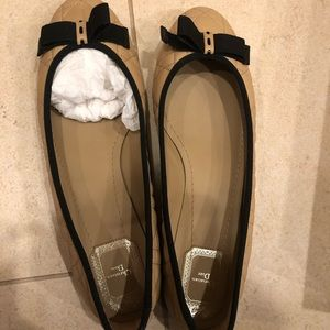 Christian Dior ballerina quilted flats